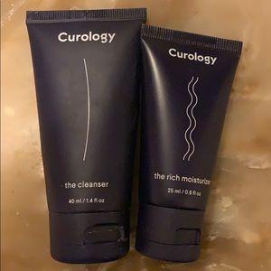 Curology face wash and moisturizer